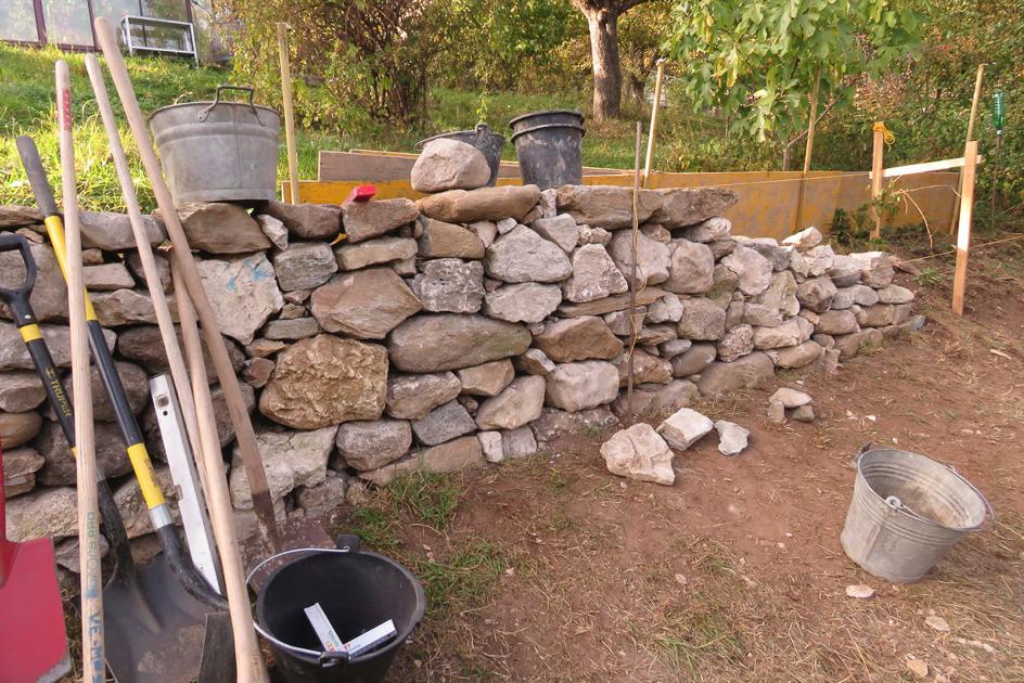 Bâtir un mur pour la vie